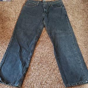 Lee Men Denim Straight Relaxed 34X30 Jeans